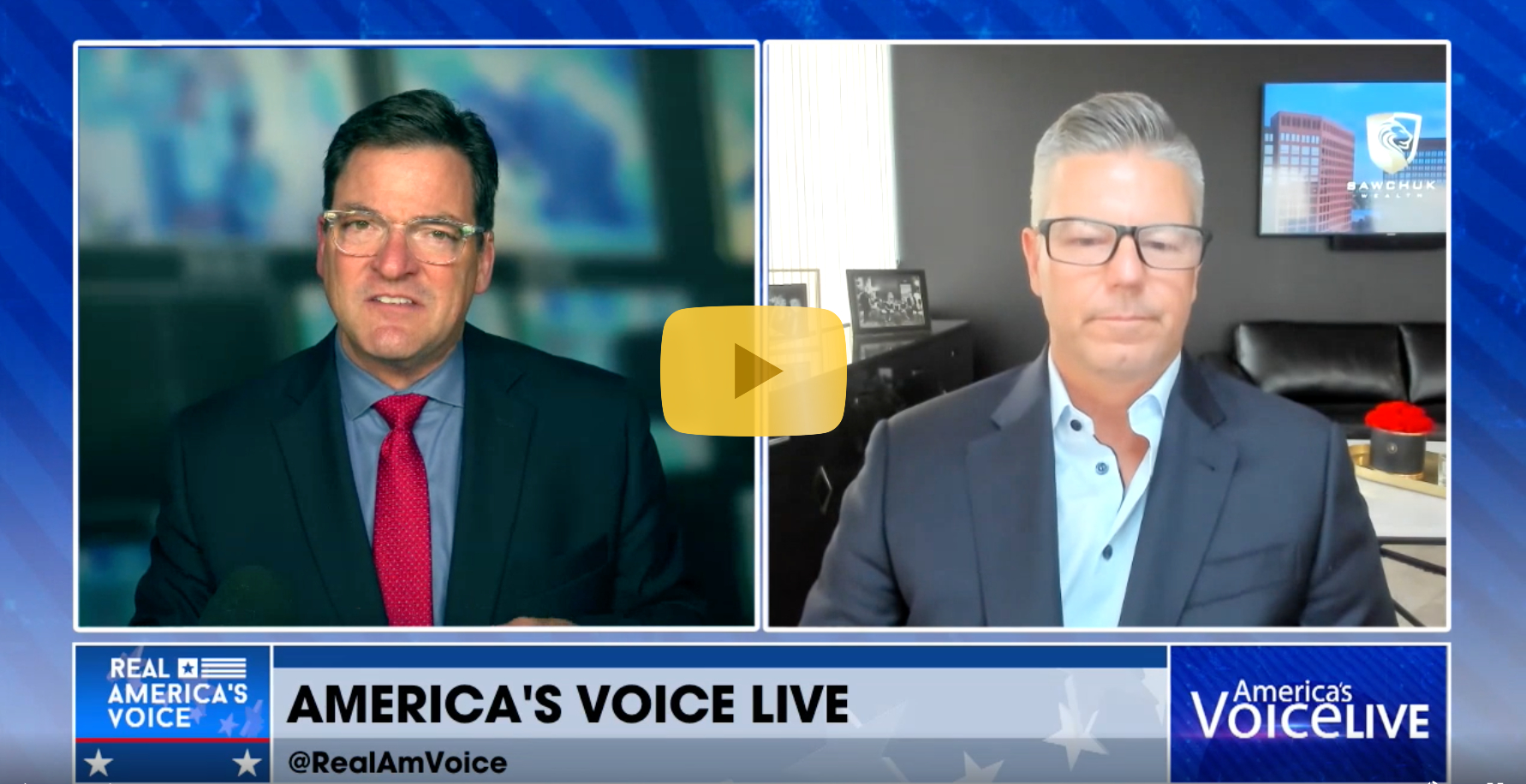 A Michigan wealth advisor discusses unemployment and jobs on America's Voice Live